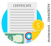 investment in education icon....   Shutterstock .eps vector #1064658254