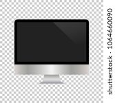 realistic computer monitor... | Shutterstock .eps vector #1064660090