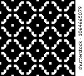 seamless pattern with ethnic... | Shutterstock .eps vector #1064665079