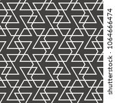 abstract geometric pattern with ... | Shutterstock .eps vector #1064666474