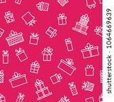 trendy seamless line icon... | Shutterstock .eps vector #1064669639