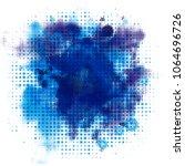 banner watercolor spray... | Shutterstock . vector #1064696726