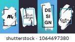 vector creative background... | Shutterstock .eps vector #1064697380
