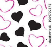 heart simple raster icon...
