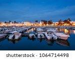 faro   portugal  april 1  2018  ...   Shutterstock . vector #1064714498