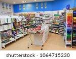 st. petersburg  russia   april... | Shutterstock . vector #1064715230