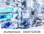 icu intensive care unit ward... | Shutterstock . vector #1064722028