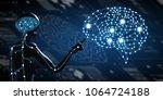 ai  artificial intelligence... | Shutterstock . vector #1064724188