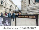 london  arpril  2018  the...   Shutterstock . vector #1064733899