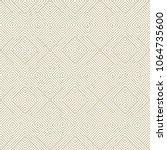 subtle vector geometric lines... | Shutterstock .eps vector #1064735600