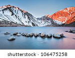 Convict Lake In The Eastern...