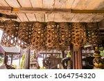 fishing equipment and kitchen...   Shutterstock . vector #1064754320