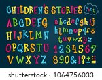 "set colored font ""children's... 