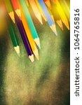 back to school background | Shutterstock . vector #1064765816