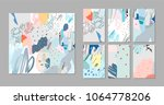 collection of creative... | Shutterstock .eps vector #1064778206