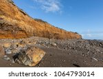 cliffs along of the cayola... | Shutterstock . vector #1064793014