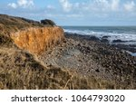 cliffs along of the cayola... | Shutterstock . vector #1064793020