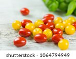fresh tasty red and yellow...   Shutterstock . vector #1064794949