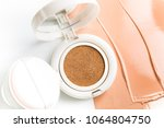 foundation cushion with sponge... | Shutterstock . vector #1064804750