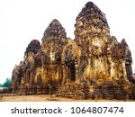 pagoda of ancient people in... | Shutterstock . vector #1064807474