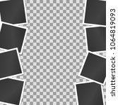 composition  border of... | Shutterstock .eps vector #1064819093
