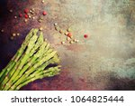 composition with fresh... | Shutterstock . vector #1064825444