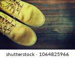 travel accessories background   Shutterstock . vector #1064825966