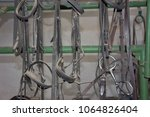 Small photo of Harnesses to saddle the horses.