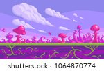 pixel art game location. cute...