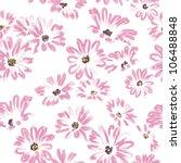 pattern rose daisywheels ... | Shutterstock . vector #106488848