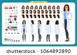 female doctor character... | Shutterstock .eps vector #1064892890