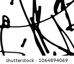 simple abstract black and white ... | Shutterstock .eps vector #1064894069