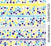 hand drawn brush stroke and... | Shutterstock .eps vector #1064894120
