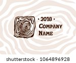 wood and timber texture symbol...   Shutterstock .eps vector #1064896928