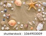 Seashells  Starfish And Sea...