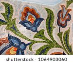 detail of beautiful old... | Shutterstock . vector #1064903060