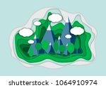 vector illustration of a... | Shutterstock .eps vector #1064910974
