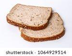 whole grain bread slices    Shutterstock . vector #1064929514