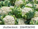 Group Of Cauliflowers With...