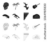 sampono mexican musical...   Shutterstock .eps vector #1064985830