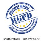 general data protection... | Shutterstock .eps vector #1064995370