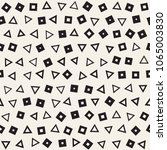 seamless chaotic patterns.... | Shutterstock .eps vector #1065003830