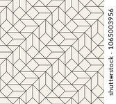 vector seamless pattern. modern ... | Shutterstock .eps vector #1065003956