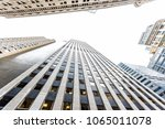looking up isolated view on... | Shutterstock . vector #1065011078