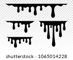 current paint  stains. current... | Shutterstock .eps vector #1065014228
