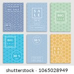 collection of sale banners ... | Shutterstock .eps vector #1065028949