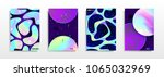 abstract multicolored covers.... | Shutterstock .eps vector #1065032969