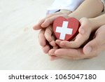 medical concepts  safe support | Shutterstock . vector #1065047180