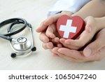 medical concepts  safe support | Shutterstock . vector #1065047240