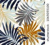 nature seamless pattern. hand... | Shutterstock .eps vector #1065055100